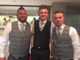 Harry, Morgan and Declan