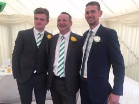 Morgan, Dad and James